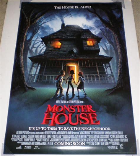 monster house movie monster house movie poster double sided original rolled 27x40 ebay