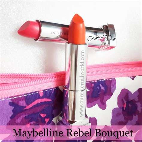 Maybelline Rebel Bouquet maybelline new york rebel bouquet lipsticks reb02 and