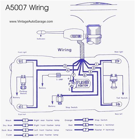 turn signal wiring diagram turn signal wiring diagram for 7 wire wiring diagram