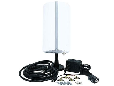 compact digital hdtv uhf vhf dtv indoor outdoor hd antenna coax cable tv amp ebay