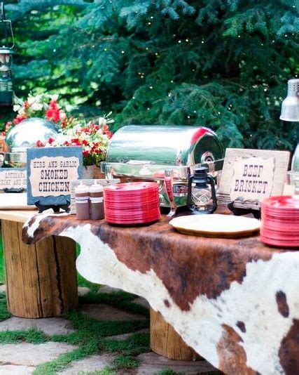 backyard bbq engagement party this is your first rodeo as future mr mrs so put your