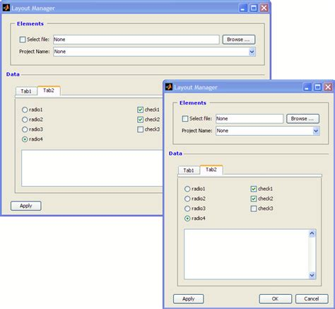 layout manager matlab yet another layout manager file exchange matlab central