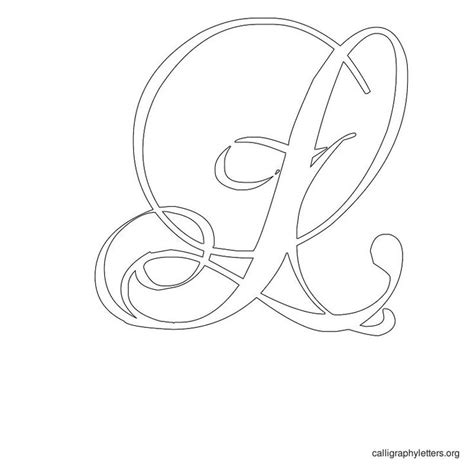 printable calligraphy stencils 15 best fancy letters images on pinterest fonts