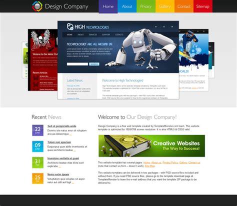 membuat website profil perusahaan dengan dreamweaver contoh desain untuk company profile tatawarwar