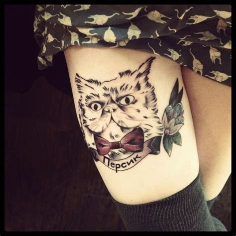 Cat Tattoo Buzzfeed | 79 beautiful cat tattoos for cat lovers tattoolot