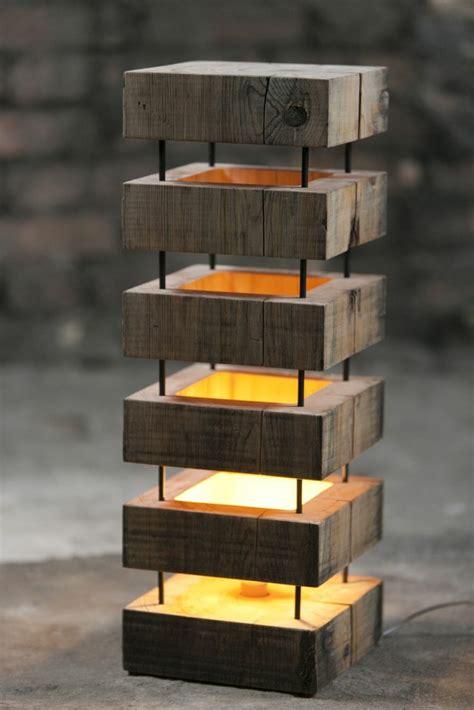 Cool Floor Lamps by Diy Lampe Kreieren Sie Ihr Eigenes Leuchtendes Holzst 252 Ck