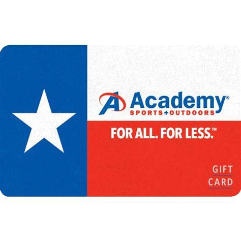 Academy Com Gift Card - texas academy gift card academy