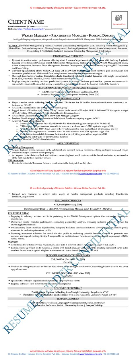 Mid Level Resume by Free Resume Sles Free Cv Template Free Cv