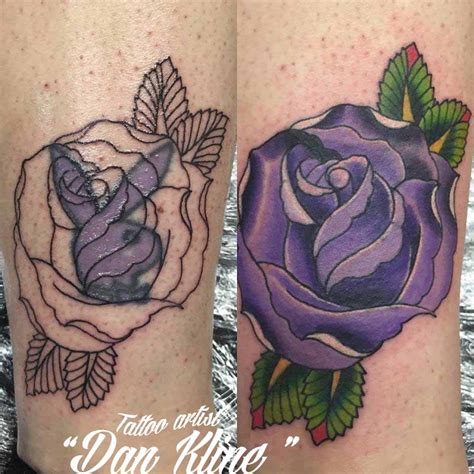 family tattoo cover up ideas purple rose tattoo cover up www pixshark com images