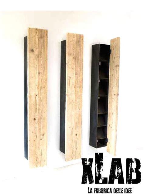 scaffali e librerie design legno libreria mensola in legno massello di abete spark xlab
