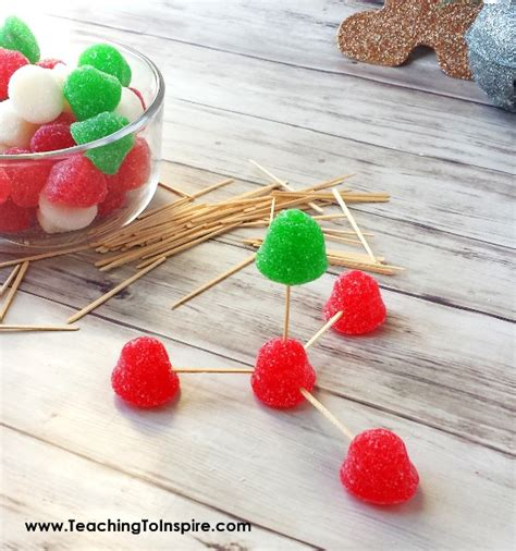 holiday living christmas gumdrop tree stem activity gumdrop tree teaching to inspire with findley