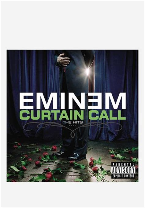 eminem curtain eminem curtain call the hits 2 lp vinyl newbury comics
