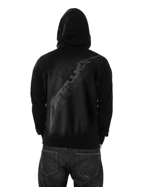 black album zip metallica hoodie hardwired master of puppets band logo new