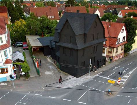 schwarzes haus la maison villa morel