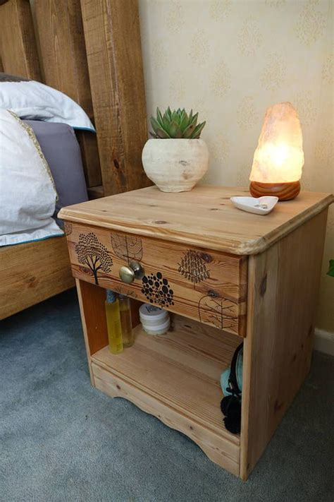 White And Pine Bedside Table 17 Best Ideas About Pine Bedside Tables On