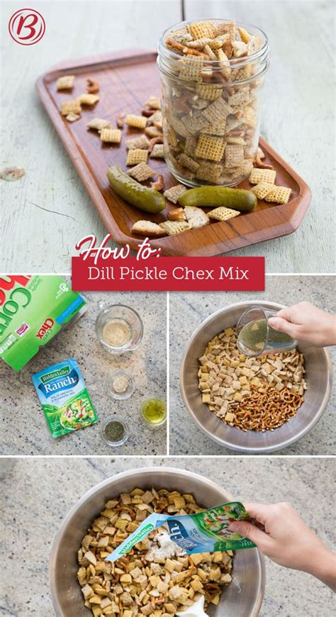Backyard Bbq Mix Dill Pickle Ranch Chex Mix Recipe We This Summer And