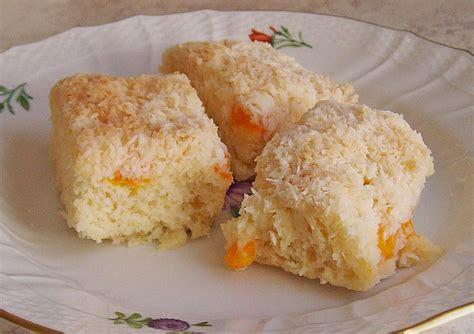 kokos mandarinen kuchen mandarinen kokos kuchen rezept mit bild fambeese