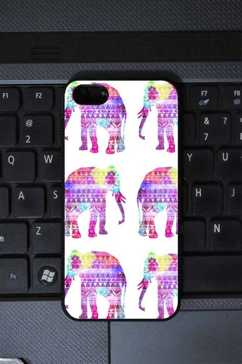 Aztec Elephant Nebula Iphone All Hp elephants aztec pattern pink teal nebula galaxy iphone 4 4s on luulla