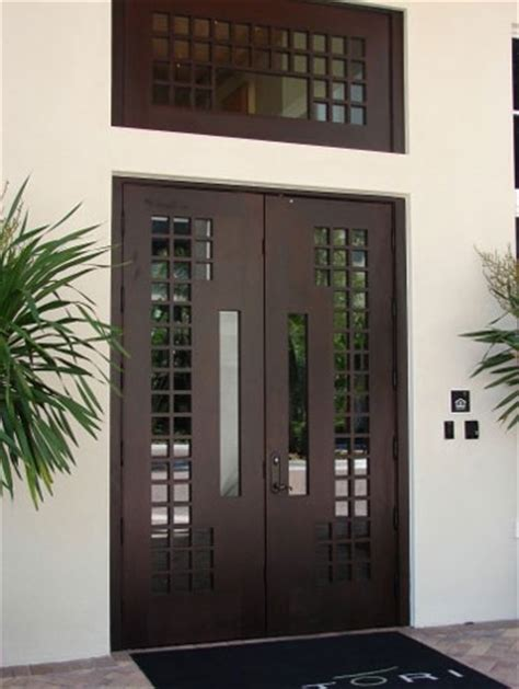Contemporary Double Front Door by Doors Gallery Luxurious With Double Entry Doors