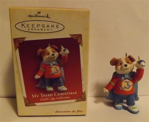 hallmark keepsake ornament my third christmas 2005 2005 now