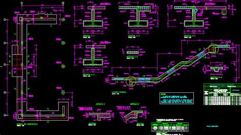 banqueta vista dwg engineering et architecture plan d une fondation en