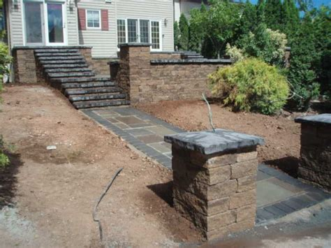 Raised Patio Construction by Raised Patio Photos Patio Construction Images