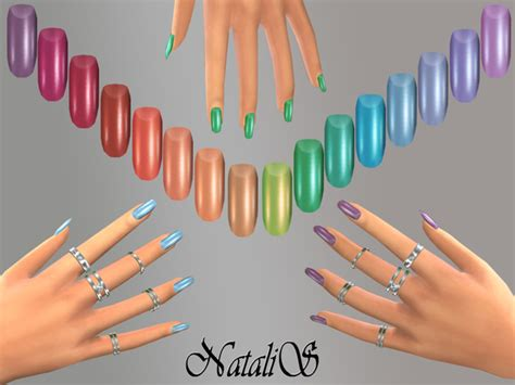 Home Design 3d Cheats by Rainbow Nails Collections By Natalis At Tsr 187 Sims 4 Updates