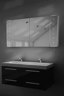 led bathroom cabinet mirror karma led illuminated battery bathroom mirror cabinet with