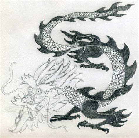Drawing Dragons by Drawing Simple And