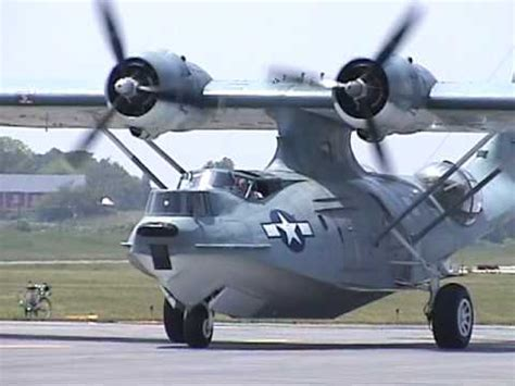 flying boat engine for sale pby catalina starting engines taxi and fly by june 2005