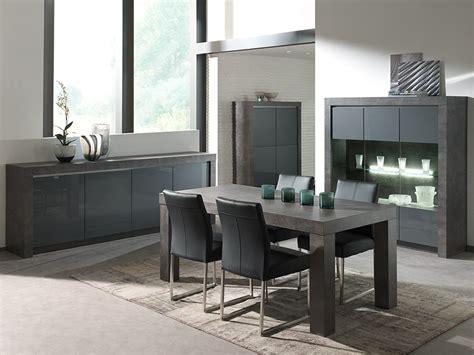salle a manger complete grise salle manger complte gris laqu moderne murilo
