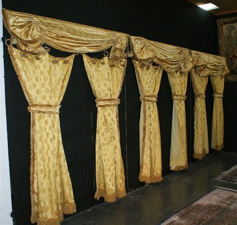 versace curtains 402 three sets of versace window curtains and valances