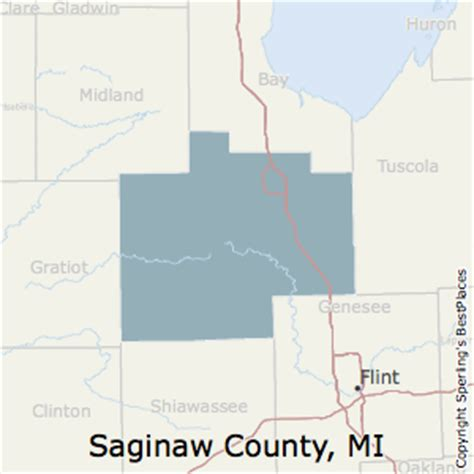 map of saginaw county michigan best places to live in saginaw county michigan