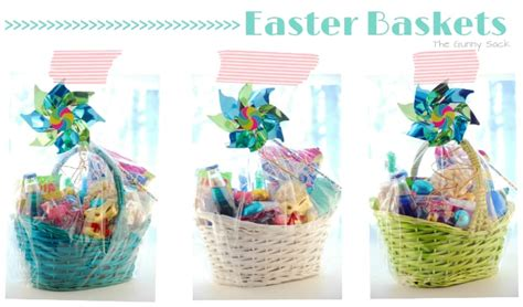 easter bunny basket ideas kid s easter basket ideas the gunny sack