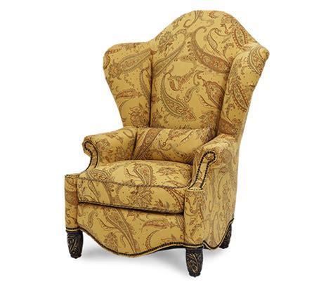 Home Design Studio Bassett michael amini essex manor english tea high back wing chair