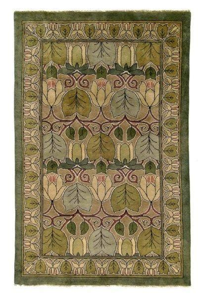 copyrights unknown arts and crafts rug craftsman style