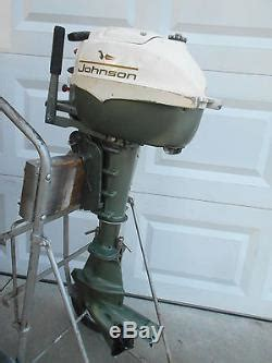 3 hp johnson boat motor vintage 1967 johnson 3hp outboard fishing boat rowboat