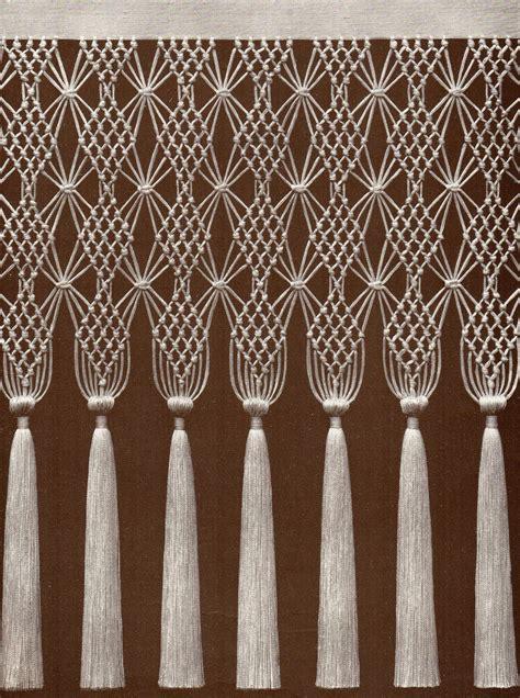 macrame curtain pattern 1000 ideas about macrame curtain on pinterest macrame