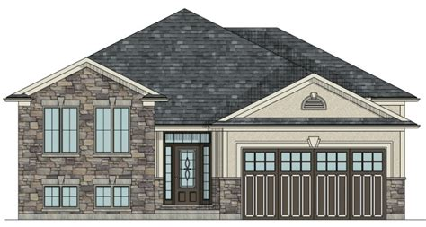 Garage Designs Canada Canadian Home Designs Custom House Plans Stock House