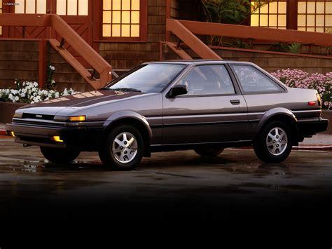 87 Toyota Corolla Toyota Corolla Sr5 Sport Coupe Ae86 1984 87 Wallpapers