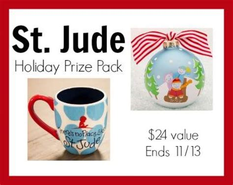St Jude Giveaway - st jude holiday prize pack giveaway