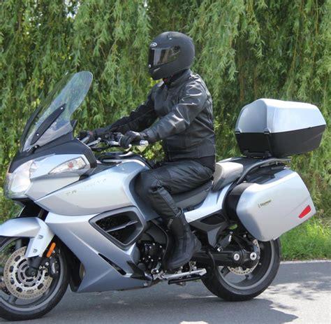 Motorrad Triumph Fahren by Touren Motorrad Die Triumph Trophy Se Ist Eine