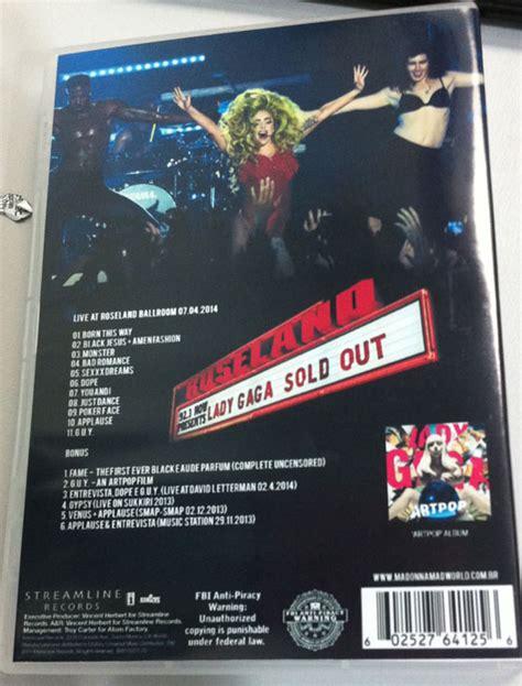 Dvd Import Gaga Tour artpop archives madonna madworld