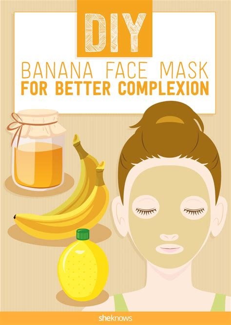 diy banana mask a diy banana mask your skin will you for