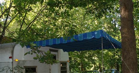 vintage awnings vintage awnings custom vintage look rope and pole awnings