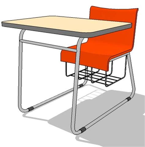 school table 02 3D Model   FormFonts 3D Models & Textures