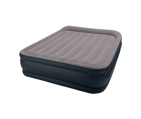 Deluxe Air Mattress by Intex Deluxe Raised Pillow Rest Air Mattress With Built In