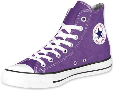 converse all hi shoes purple