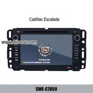 Cadillac Navigation Dvd Cadillac Escalade Oem In Dash Radio Gps Dvd Player
