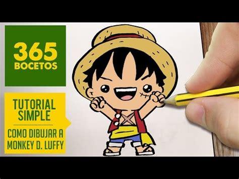 imagenes kawaii de luffy 365 bocetos
